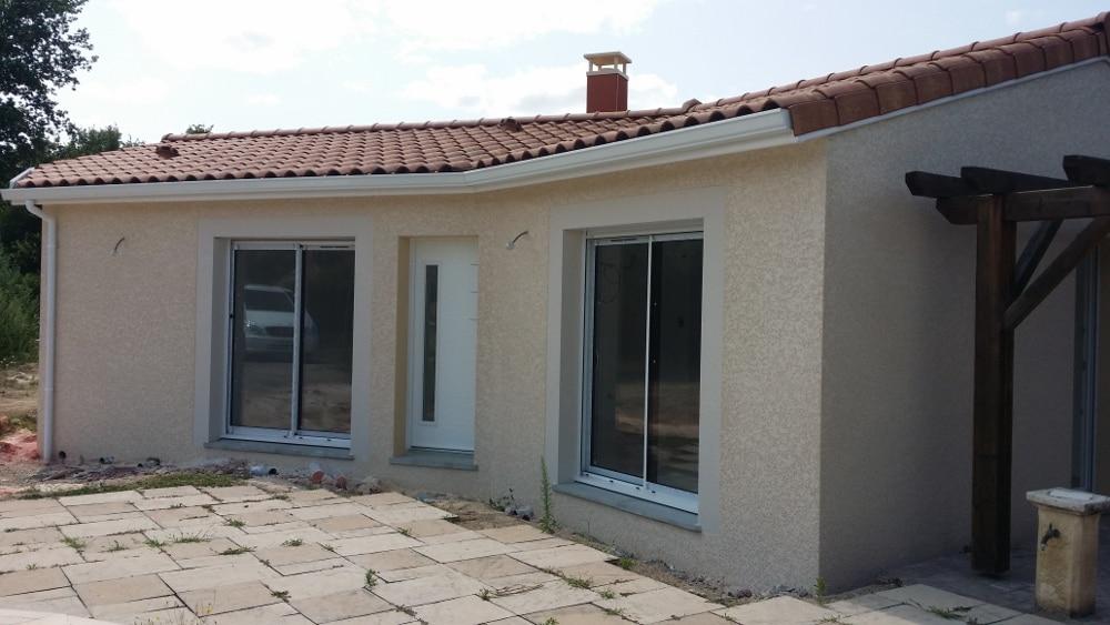 Maîtrise d'Oeuvre pour Construction d'une maison de plain-pied – Saint Cyprien