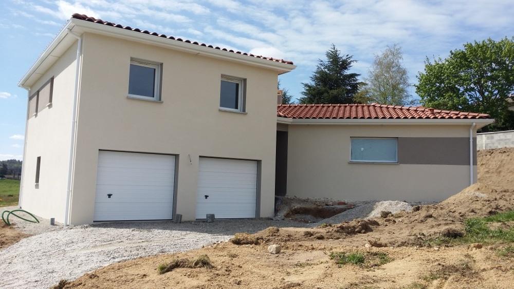 Maîtrise d'Oeuvre pour Construction d'une maison sur demi sous-sol – Saint Maurice de Lignon