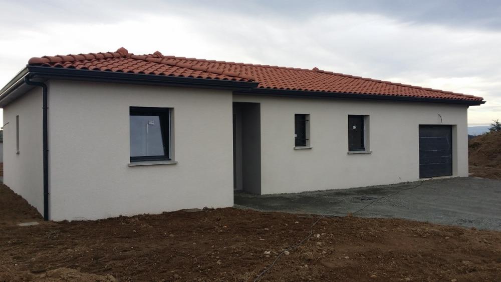 Maîtrise d'Oeuvre pour Construction d'une maison de plain-pied – Chevrières