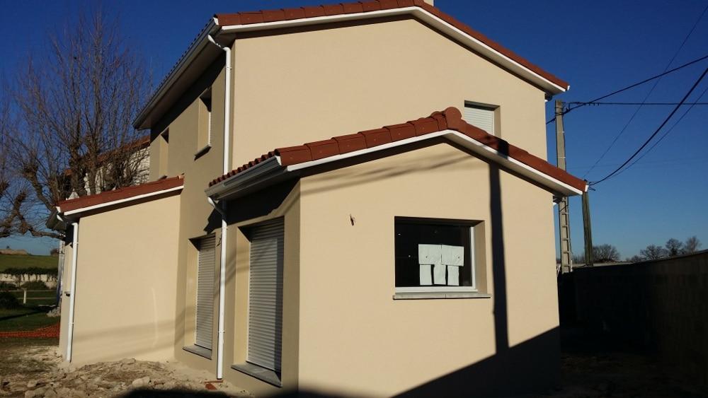 Maîtrise d'Oeuvre pour Construction d'une maison à étage – Saint Marcellin en Forez