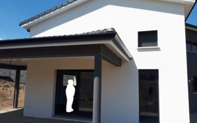 Maîtrise d'Oeuvre pour Construction d'une maison contemporaine – L'Horme