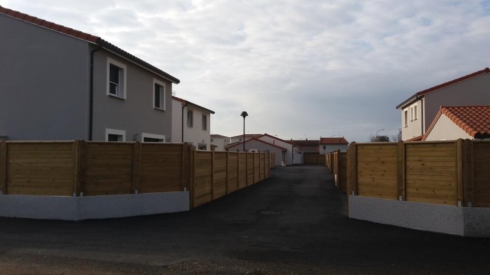 Maîtrise d'Oeuvre pour Construction d'un lotissement de 8 maisons – Saint Cyprien