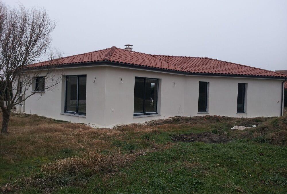 Maîtrise d'Oeuvre pour Construction d'une maison de plain-pied – L'Hopital Le Grand