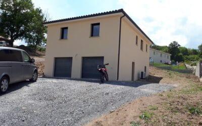 Maîtrise d'Oeuvre pour Construction d'une maison de sur sous-sol – Montbrison