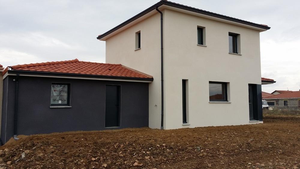 Maîtrise d'Oeuvre pour Construction d'une maison contemporaine à étage – Saint Just Saint rambert
