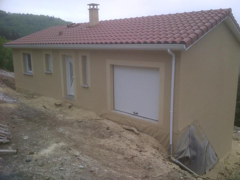 Maîtrise d'Oeuvre pour Construction d'une maison à étage – Saint Férréol d'Auroure