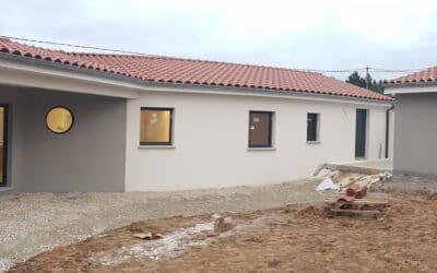 Maîtrise d'Oeuvre pour Construction d'une maison de plain-pied en V – Monistrol sur Loire