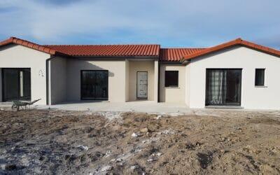 Maîtrise d'œuvre pour Construction d'une maison de plain-pied U – Sainte Foy Saint Sulpice